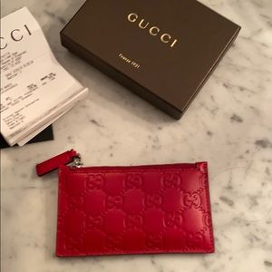 Gucci Credit Card Wallet/Change Purse